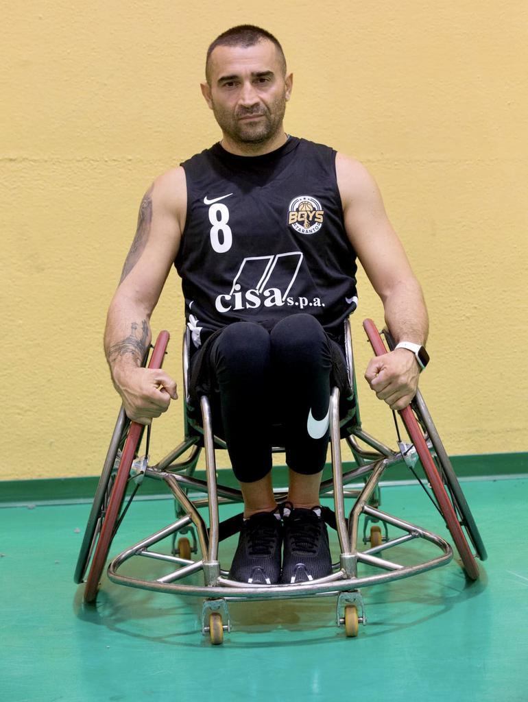 Il presidente/giocatore Domenico Latagliata