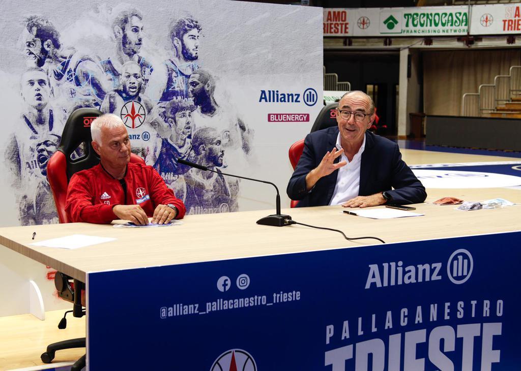 Pallacanestro Trieste c'è! Domani al via la preparazione per la stagione 2020/2021