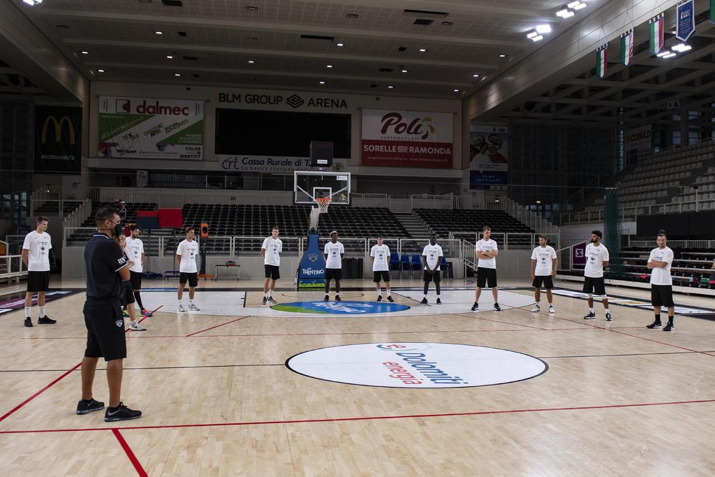Aquila Trento, con il raduno si apre la stagione 2020-21