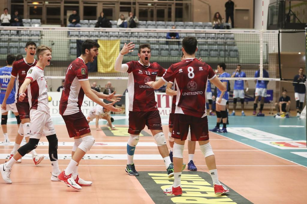 Il Calendario Della Serie A3 Per L Unitrento Volley Esordio Casalingo Il 18 Ottobre Contro Montecchio Maggiore