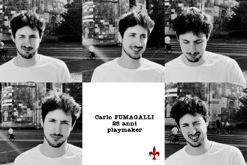 Carlo Fumagalli è oro-amaranto!