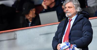 Il presidente Massimo Ferrero della Sampdoria, FOTO: FONTE WEB