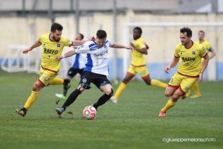 Unazione di gioco (Foto Giuseppe Melone - sportcasertano.it)