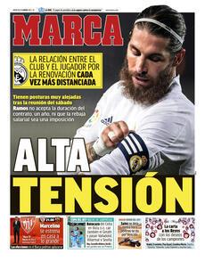 Prima pagina Marca (Ph. Web)