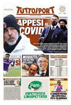 Prima pagina Tuttosport (Ph. Web)