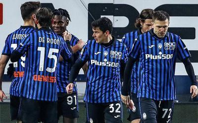 I ragazzi di Gasperini esultano in Atalanta-Parma 3-0 (Profilo social Atalanta)