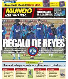 Prima pagina Mundo Deportivo (Ph. Web)