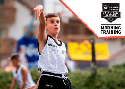 La Dolomiti Energia Basketball Academy riparte a tutto basket: dal 13 luglio a Trento l'Academy Morning Training