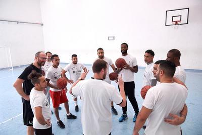 Rashard Kelly tra basket e vita con il One Team presso la casa circondariale di Spini