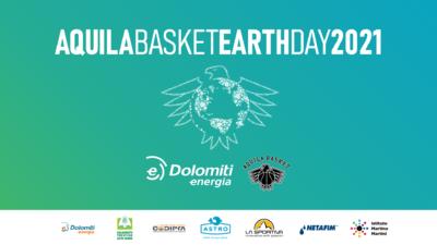Dolomiti Energia Trentino presenta l'Aquila Basket Earth Day 2021