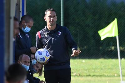 Luciano Zauri, tecnico del Bologna Primavera (Foto: Bologna FC)