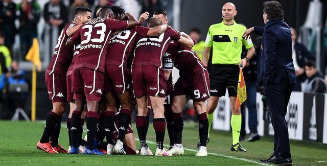 L'esultanza del Torino, FOTO: FONTE WEB