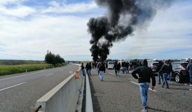 L'episodio avvenuto quest'oggi, FOTO: FONTE WEB
