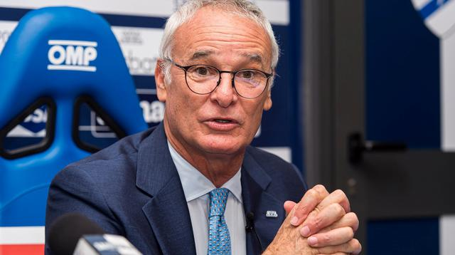 La presentazione di Claudio Ranieri, FOTO: SAMPDORIA.IT-PEGASO NEWSPORT