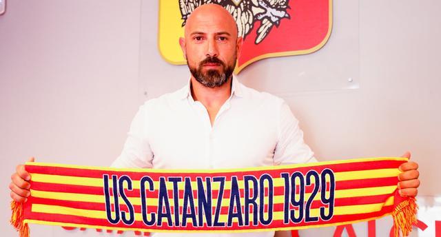Antonio Calabro, FOTO: USCATANZARO1929.COM
