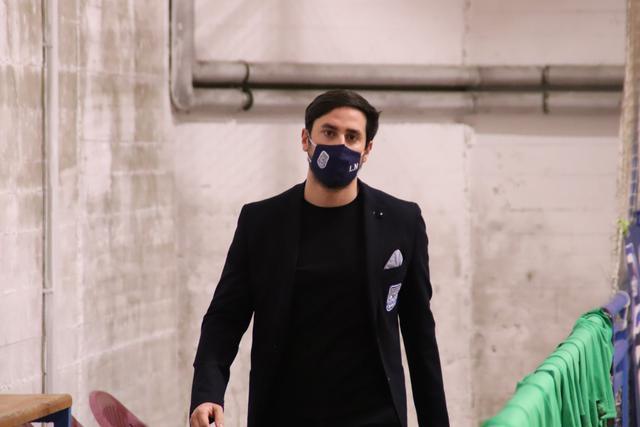 Il tecnico Lorenzo Nitti, FOTO: CMBFUTSALTEAM.IT-SAVINO