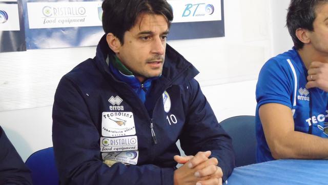Il tecnico-giocatore Tonio Chisena, FOTO: TUTTOMATERA.COM