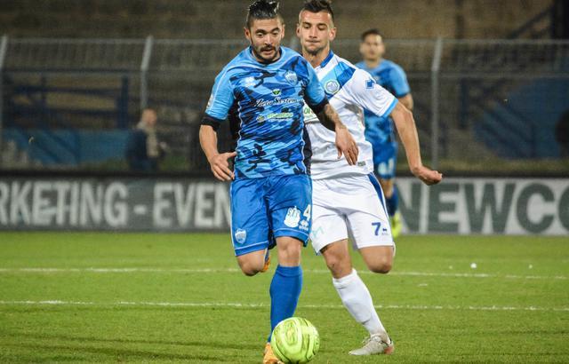 Il centrocampista Francesco De Rose, FOTO: TUTTOMATERA.COM