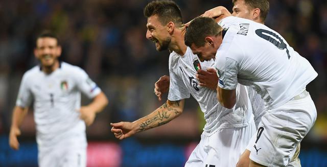 Il gol di Acerbi, FOTO: FIGC.IT-CLAUDIO VILLA