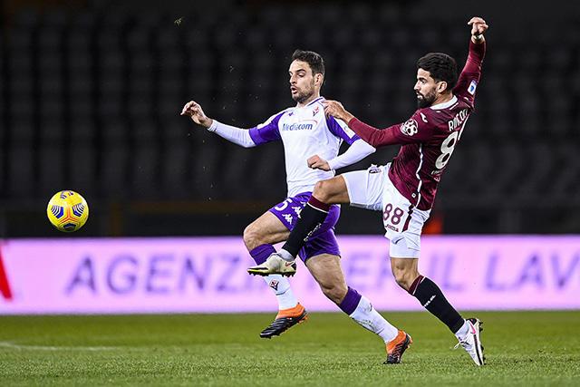 Una fase di Torino-Fiorentina, FOTO: TORINOFC.IT