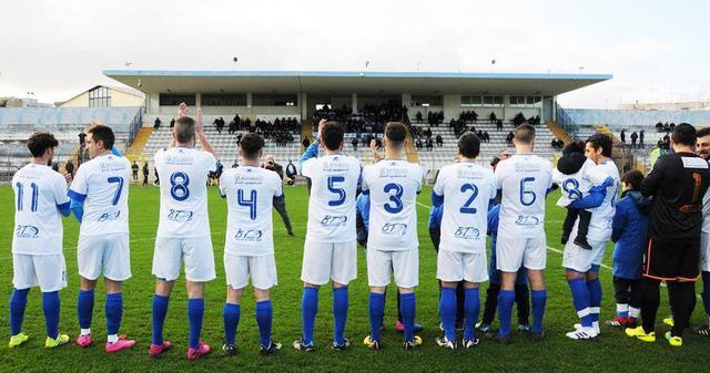 La squadra biancoazzurra, FOTO: SANDRO VEGLIA