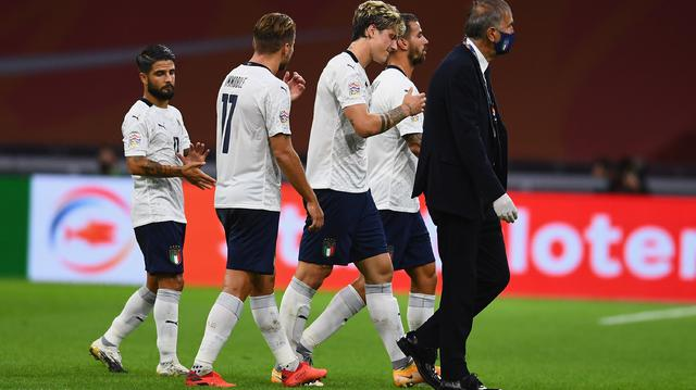 L'infortunio a Nicolò Zaniolo, FOTO: FIGC.IT