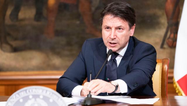 Il premier Giuseppe Conte, FOTO: FONTE WEB