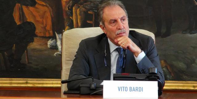 Il presidente Vito Bardi della Basilicata, FOTO: FONTE WEB