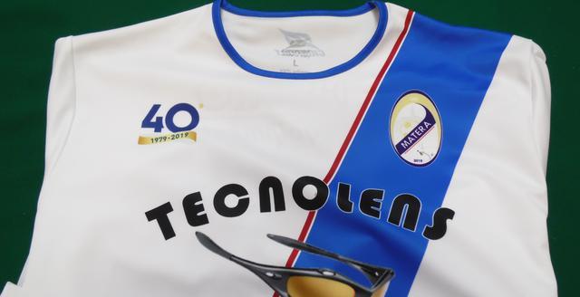 La maglia dei biancoazzurri, FOTO: TUTTOMATERA.COM