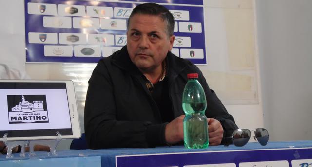 Il vice-presidente Tommaso Taccardi dell'Usd Matera, FOTO: TUTTOMATERA.COM
