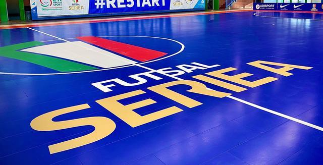 Logo Serie A futsal, FOTO: FONTE WEB