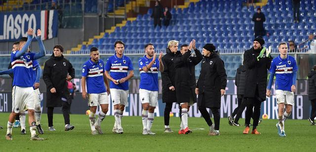 La Sampdoria sotto la curva, FOTO: FONTE WEB