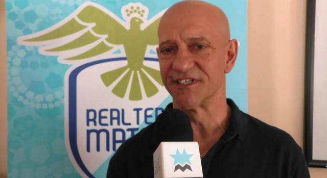 L'ex tecnico dei biancoazzurri Eustachio Rondinone, FOTO: FONTE WEB
