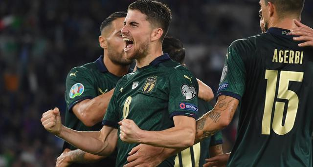 Il centrocampista Jorginho, FOTO: FIGC.IT