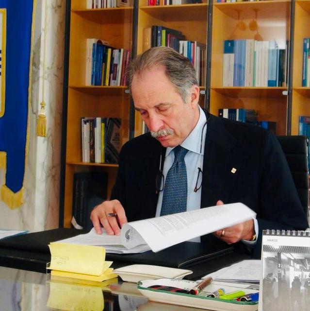 Il presidente della Basilicata Vito Bardi, FOTO: FONTE WEB