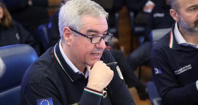 Angelo Borrelli della Protezione Civile, FOTO: FONTE WEB