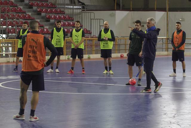 L'allenamento dei biancoazzurri, FOTO: FIGC.IT