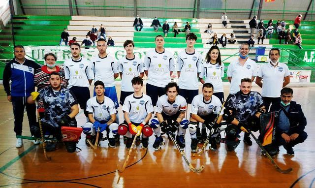 La squadra della Roller Matera, FOTO: FONTE WEB