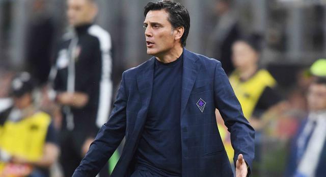 Il tecnico Vincenzo Montella, FOTO: FONTE WEB