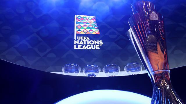 Il trofeo della Nations League, FOTO: FONTE WEB
