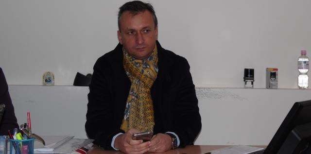 Il presidente Alessandro Santorufo del Sassi Matera, FOTO: TUTTOMATERA.COM