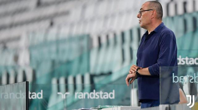 Maurizio Sarri, FOTO: JUVENTUS.COM