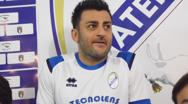 Il centrocampista Alberto Marsico, FOTO: TUTTOMATERA.COM