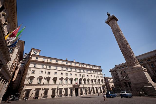 Palazzo Chigi, FOTO: WIKIPEDIA.IT