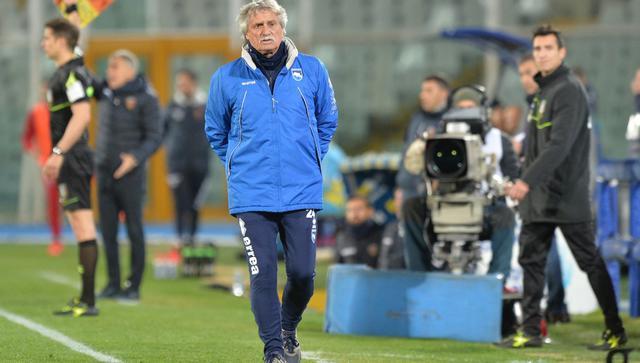 Il tecnico Giuseppe Pillon, FOTO: FABIO URBINI-LA PRESSE