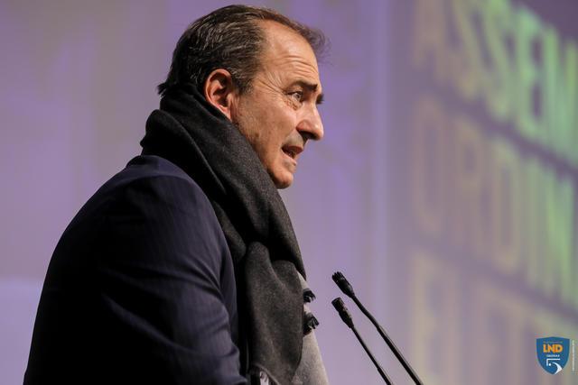 Il presidente Luca Bergamini, FOTO: DIVISIONECALCIOA5.IT