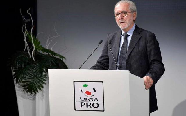 Francesco Ghirelli della Lega Pro, FOTO: FONTE WEB