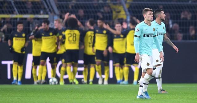 Una fase di Borussia Dortmund-Inter, FOTO: UEFA.COM
