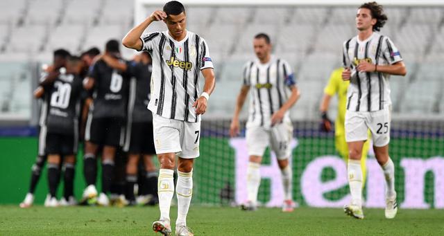 Una fase di Juventus-Lione, FOTO: UEFA.COM