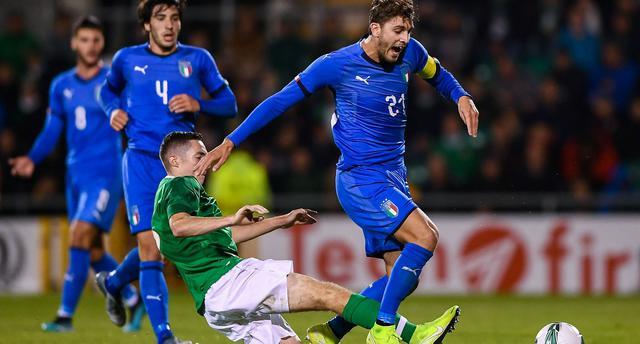 Una fase di Irlanda-Italia, FOTO: FIGC.IT